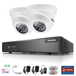 ANNKE 4Channel 5-in-1 1080N DVR Security Camera System and