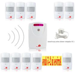 100M Wireless Motion Sensor Driveway Alert Patrol Home Secur