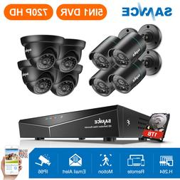 SANNCE 1080N CCTV 8CH DVR 720P HD IR Night Vision Security C