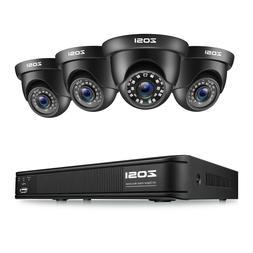 ZOSI 1080N Night Vision 8CH DVR IR CCTV Outdoor Home Securit