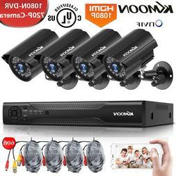 1080p 4ch dvr cctv 1500tvl security camera