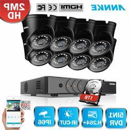 ANNKE 1080P HDMI 5in1 8CH DVR 1500TVL IR Home Security Camer
