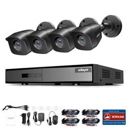SANNCE 1080P Lite Security Camera System Kit 4CH DVR HD 2MP