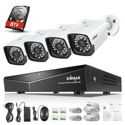 SANNCE 1080P POE Security System IR Day Night In/Outdoor IP