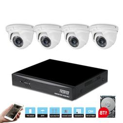 Tonton 1080P Security System 8CH DVR 3000TVL Camera Home CCT