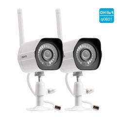 2 pack 1080p hd night wifi outdoor