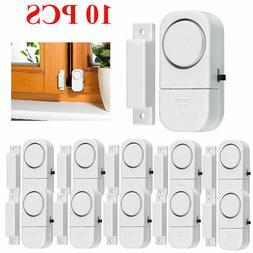 10pcs wireless home window door burglar security