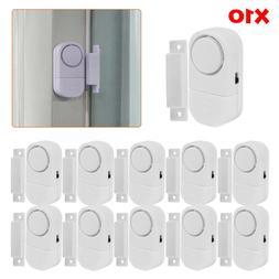 10X WIRELESS Home Window Door Burglar Security ALARM System