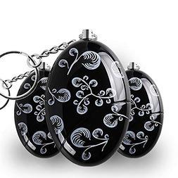 3 Pack ANRUI 120 dB SOS Emergency Personal Alarm Keychain Se