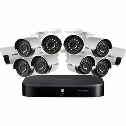 Lorex 16-Channel 10-Camera 4K Security System with 2TB HDD D