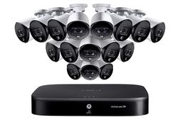 Lorex 16 Channel Security System with 16 5MP Active Deterren