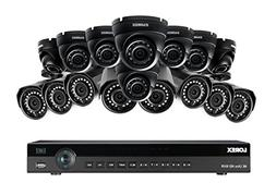 Lorex 4K 16 Channel 4MP 16 Camera Security System NR9163 3TB