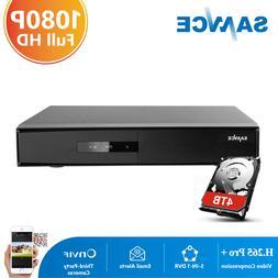 SANNCE 16CH 5in1 HD 1080P HDMI Video Recorder DVR Surveillan