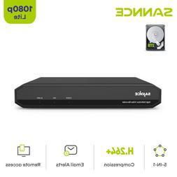 SANNCE 16CH/ 8CH/ 4CH HD 1080P HDMI DVR Video Recorder for C