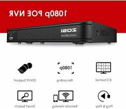 ZOSI 16CH DVR 1080P HDMI 4-in-1 Hybrid DVR Recorder for home
