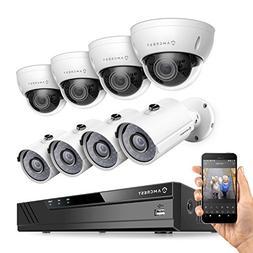 Amcrest 16CH Plug & Play H.265 4K NVR 3MP 1536P Security Cam