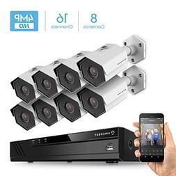Amcrest 16CH Plug & Play H.265 4K NVR 4MP 1440P Security Cam
