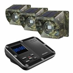 Home Security Solar Driveway Alarm System Wireless 500M Long