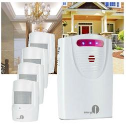 1byone Wireless Security Driveway Alarm System Outdoor Home