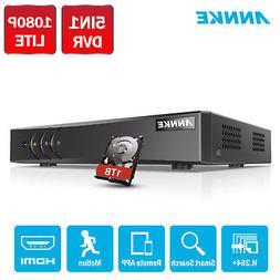ANNKE 1TB 5in1 H.264+ 1080P Lite 8CH CCTV DVR Video Recorder