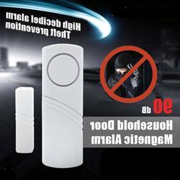 2/4Packs Wireless Security Burglar Alarm Home Window Door Sy