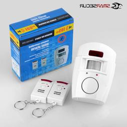 2 Remote Controller Wireless Home <font><b>Security</b></fon