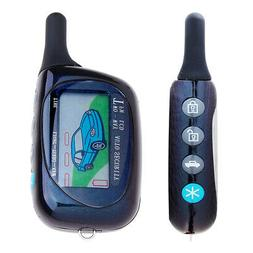 2-Way Car Vehicle Alarm System Remote Start Protection Secur
