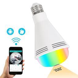 【2018 NEW】 Premium Security Camera Bulb, LED Light Bulb