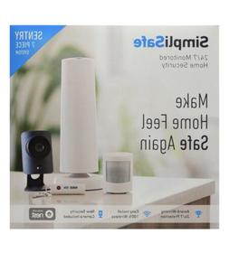SimpliSafe 24/7 Home Security System  Works With Nest New Se