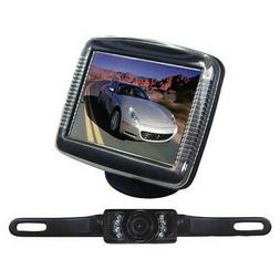 3.5 TFT-LCD Monitor with License Plate Night Vision Back-Up