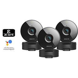 3-Pack D-Link Wireless-N Network Surveillance 720P Home Inte