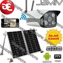 3G Solar Camera Farm Alarm System Farm Home Wireless Securit