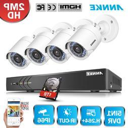 ANNKE 3MP 5IN1 4CH 5in1 DVR 4x 2MP TVI Camera Home Security