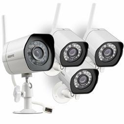 Zmodo 4 720p IP Outdoor Wireless IR Night Vision Home Securi