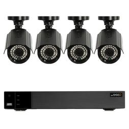 Q-See 4-Channel 4-Camera 1080p Security Systems 1TB HDD DVR