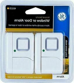 GE 45115 Personal Security Window or Door Alarm, White