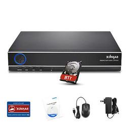SANNCE 4CH 1080N DVR Onvif CCTV Video Recorder Security Syst