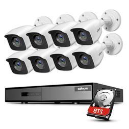 SANNCE 4CH 8CH 1080P Lite DVR 2MP CCTV EXIR Security Camera