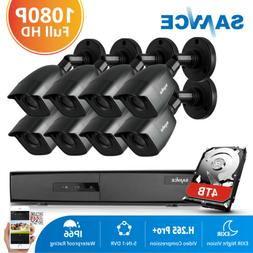 ANNKE 4CH/ 8CH 1080P POE NVR 960P IP Camera In/Outdoor IR Se