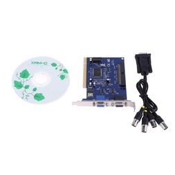 4CH CCTV DVR Security PCI Capture Card Digital Video Surveil