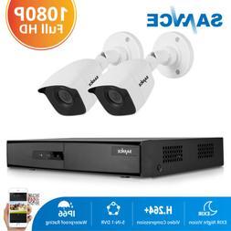 SANNCE 1080P HDMI 8CH DVR Outdoor 2MP CCTV Security Camera S