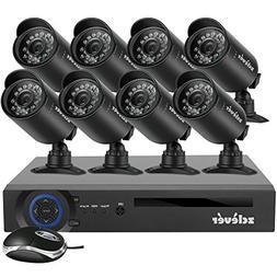 Zclever 720P 4CH HDMI DVR CCTV Home Surveillance Security Ca