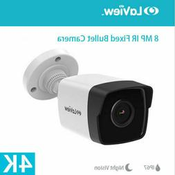 4K 8MP IR Night Vision CCTV Camera TVI/CVI/AHD/CVBS Outdoor