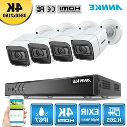 ANNKE 4K 8MP Ultra HD Video Security Camera System 8CH H.265