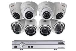 Lorex 4K DV9082 8 Channel DVR with 4xLBV2711 Bullet and 4xLE