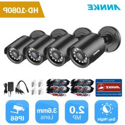 ANNKE HD 1080P CCTV Cameras Indoor/Outdoor IR Security Surve