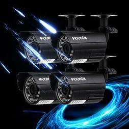 4pcs AHD 720P Weatherproof CCTV Cameras Kit IR CUT Color Sec
