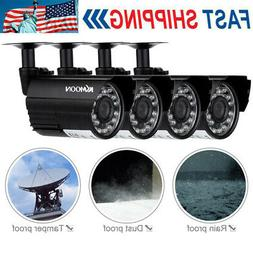 4PCS Wired 720P NVR Outdoor Indoor IR CUT Camera Home CCTV S