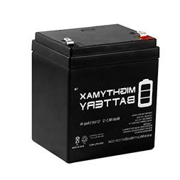 Mighty Max Battery 12V 5AH SLA Battery Replacement for GE Co