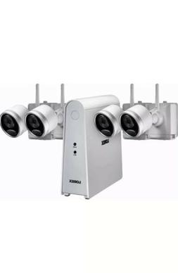 Lorex 6-Channel 4-Camera Wire-Free Security System with 1TB
